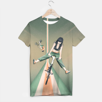 Thumbnail image of Happy Joyride T-Shirt, Live Heroes