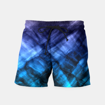 Thumbnail image of Rock Pool in Blue and Gold Swim Shorts, Live Heroes