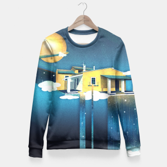 Thumbnail image of Castle in Heaven Taillierte Sweatshirt, Live Heroes