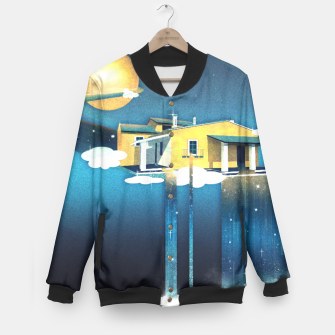 Miniatur Castle in Heaven College-Jacke, Live Heroes
