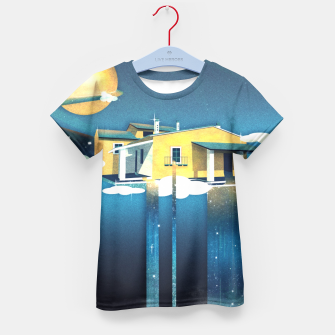 Miniatur Castle in Heaven T-Shirt für Kinder, Live Heroes