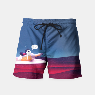 Message on a Bottle Badeshorts thumbnail image