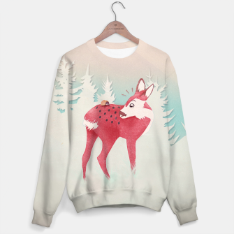 Thumbnail image of Oh deer, what the bug?! Sweatshirt, Live Heroes