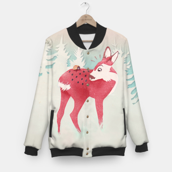 Oh deer, what the bug?! College-Jacke thumbnail image