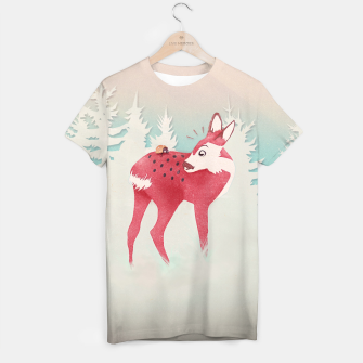 Thumbnail image of Oh deer, what the bug?! T-Shirt, Live Heroes