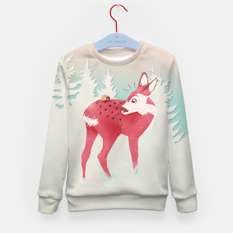 Oh deer, what the bug?! Kindersweatshirt thumbnail image