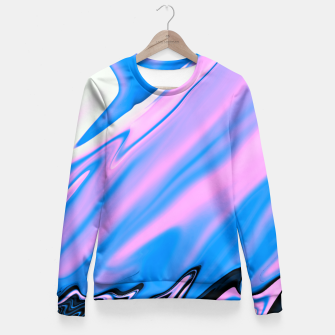 Thumbnail image of Pink Matter Fitted Waist Sweater, Live Heroes
