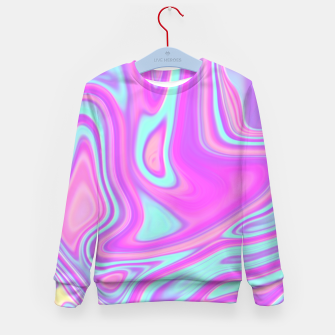 Thumbnail image of Pastel Water Kid's Sweater, Live Heroes