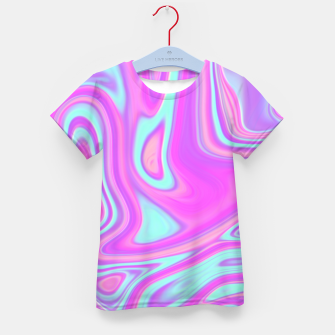 Thumbnail image of Pastel Water Kid's T-shirt, Live Heroes