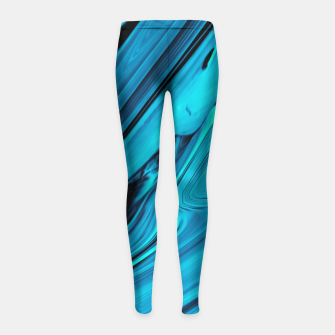 Thumbnail image of Darkness Girl's Leggings, Live Heroes