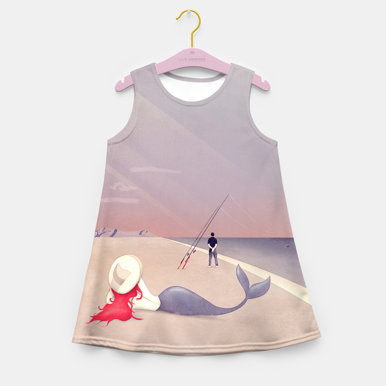 Image of Keep Fishing Mädchen-Sommerkleid - Live Heroes