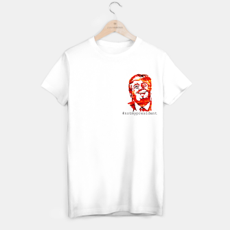 Thumbnail image of Donald Trump smiling not my president T-shirt regular, Live Heroes