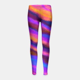 Thumbnail image of Fun in the Afternoon Girl's Leggings, Live Heroes