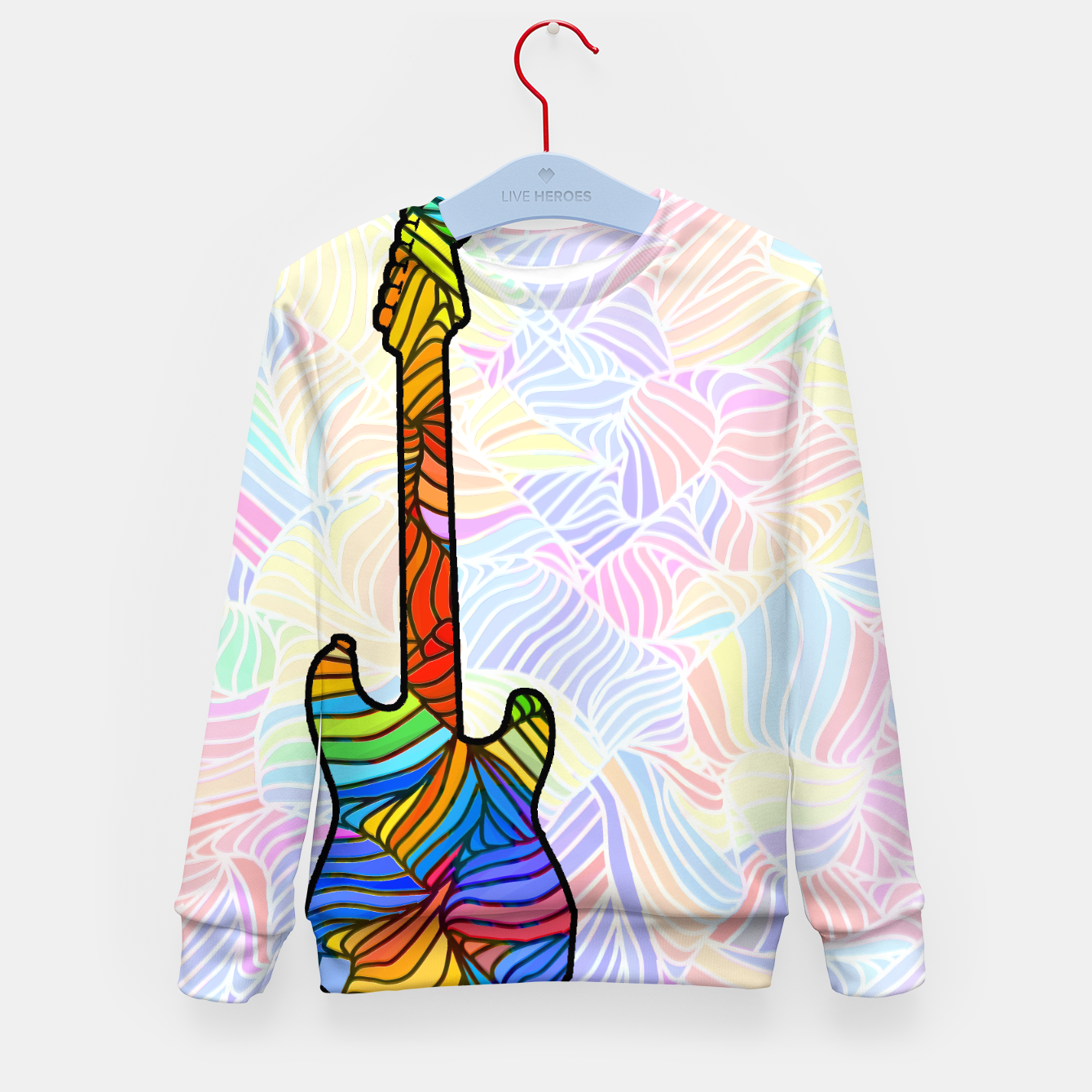 Image of gp Kid's Sweater - Live Heroes