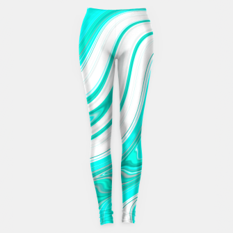 Thumbnail image of LightGreenishBlue Leggings, Live Heroes