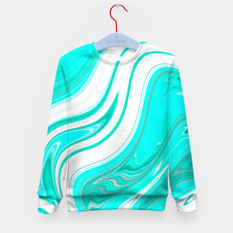 Thumbnail image of LightGreenishBlue Kid's Sweater, Live Heroes