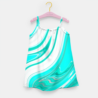 Thumbnail image of LightGreenishBlue Girl's Dress, Live Heroes