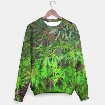 Thumbnail image of Ganja Forest  Sweater, Live Heroes