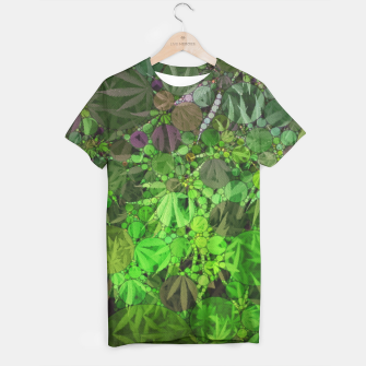 Thumbnail image of Ganja Forest  T-shirt, Live Heroes