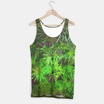Thumbnail image of Ganja Forest  Tank Top, Live Heroes