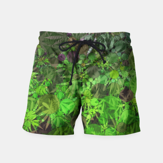 Thumbnail image of Ganja Forest  Swim Shorts, Live Heroes