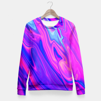 Thumbnail image of Paint The Sky Fitted Waist Sweater, Live Heroes