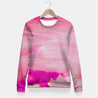Blurry Sky Fitted Waist Sweater thumbnail image