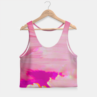 Thumbnail image of Blurry Sky Crop Top, Live Heroes