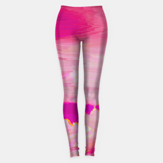Thumbnail image of Blurry Sky Leggings, Live Heroes