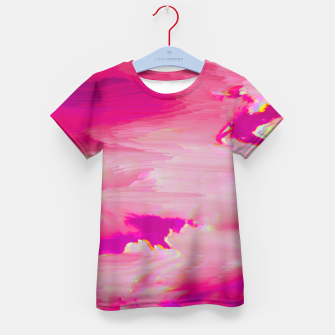Thumbnail image of Blurry Sky Kid's T-shirt, Live Heroes