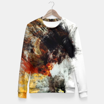 Thumbnail image of ARTIST Fitted Waist Sweater, Live Heroes