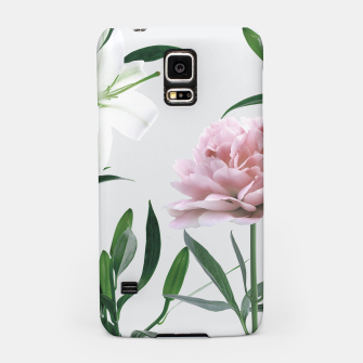 Thumbnail image of Pink Peony White Lily Samsung Case, Live Heroes