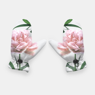 Thumbnail image of Pink Peony White Lily Gloves, Live Heroes