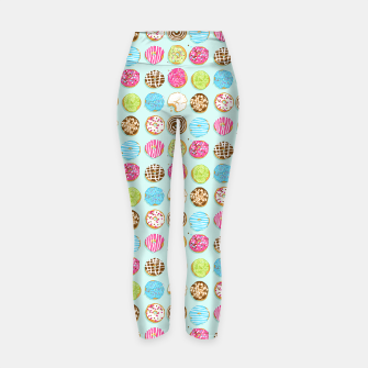 Thumbnail image of Sweet donuts Yoga Pants, Live Heroes