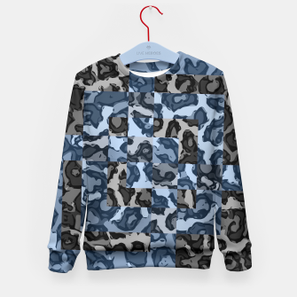 Thumbnail image of Blueberry Chettah  Kid's Sweater, Live Heroes