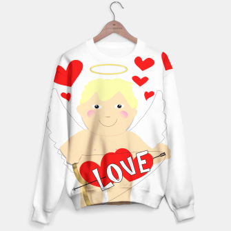 Thumbnail image of Valentine Love Arrows Cupid Sweet Hearts Sweater, Live Heroes