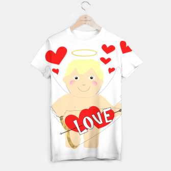 Thumbnail image of Valentine Love Arrows Cupid Sweet Hearts T-shirt, Live Heroes