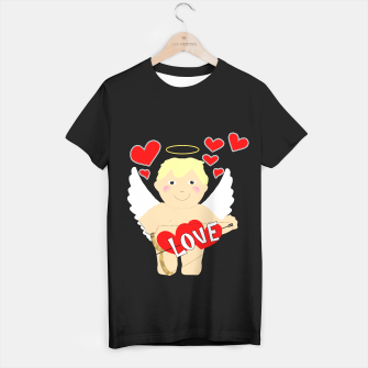 Thumbnail image of Valentine Love Arrows Cupid Sweet Hearts T-shirt regular, Live Heroes