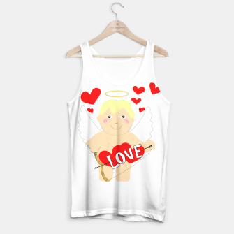 Thumbnail image of Valentine Love Arrows Cupid Sweet Hearts Tank Top, Live Heroes