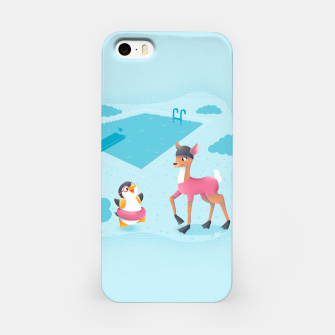 Thumbnail image of Swimming Pool iPhone Case, Live Heroes