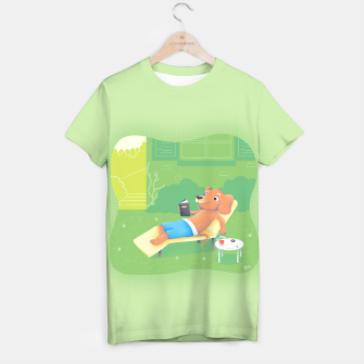 Thumbnail image of Chillin' T-shirt, Live Heroes