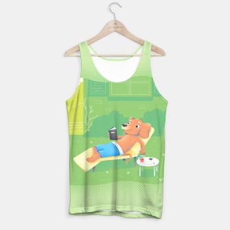 Thumbnail image of Chillin' Tank Top, Live Heroes