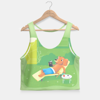 Thumbnail image of Chillin' Crop Top, Live Heroes