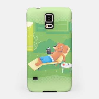 Thumbnail image of Chillin' Samsung Case, Live Heroes