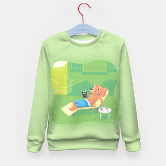 Thumbnail image of Chillin' Kid's Sweater, Live Heroes
