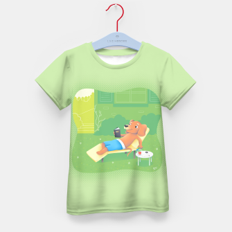 Thumbnail image of Chillin' Kid's T-shirt, Live Heroes