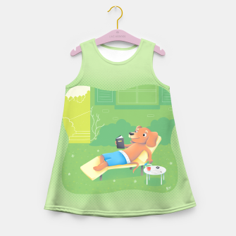 Thumbnail image of Chillin' Girl's Summer Dress, Live Heroes