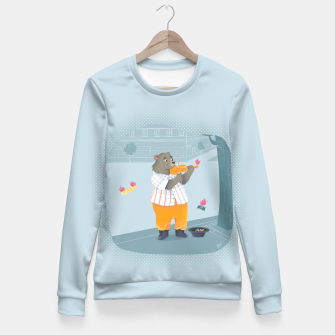 Thumbnail image of Music Fitted Waist Sweater, Live Heroes