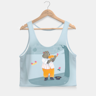 Thumbnail image of Music Crop Top, Live Heroes