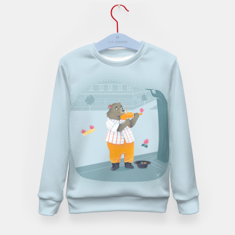 Thumbnail image of Music Kid's Sweater, Live Heroes
